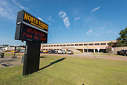 Survey of conditions at the North Forest High School campus, July 1, 2013.