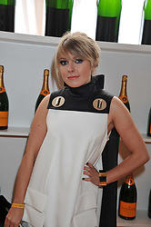 VICTORIA HESKETH - Little Boots at the 2011 Veuve Clicquot Gold Cup Final at Cowdray Park, Midhurst, West Sussex on 17th July 2011.