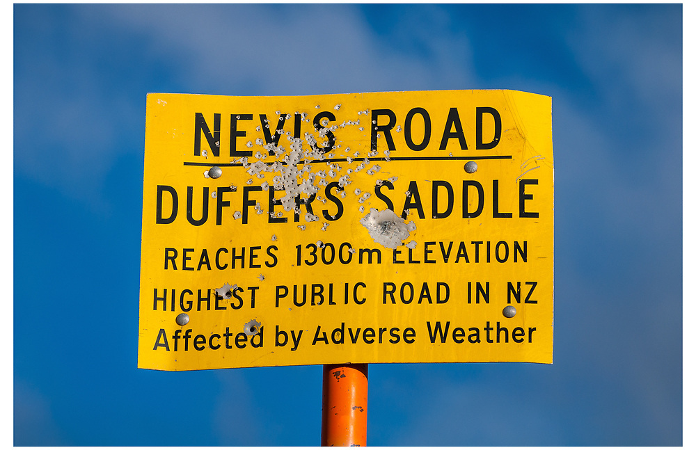 Nevis Road, Duffers Saddle, Otago.