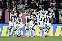 esultanza gol Carlos Tevez Goal celebration  <br /> Torino 18-04-2015 Juventus Stadium Football Calcio Serie A 2014/2015 Juventus - Lazio  . Foto Image Sport / Insidefoto