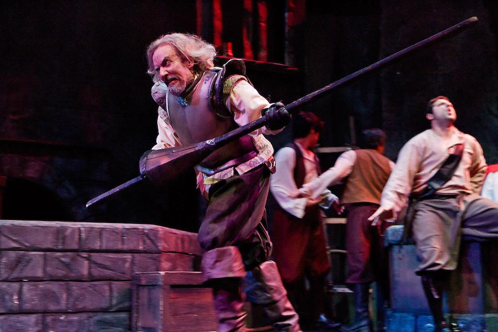 "Missouri Street Theatre presents ""Man of La Mancha."" Photo by Mike Padua."