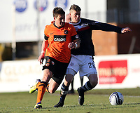 Football - Scottish Premier League - Dundee vs. Dundee United<br /> <br /> Ian MacNicol/Colorsport<br /> <br /> Rudi Skacel of Dundee United competes with Jim McAlister of Dundee during the Dundee vs.Dundee United Scottish premier League Match at Dens Park, Dundee.<br /> <br /> 9th December 2012<br /> <br /> <br /> <br /> Re