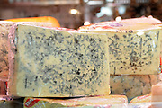 Wedge of Roquefort Blue Cheese