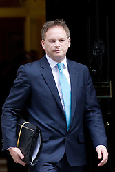 © Licensed to London News Pictures. 18/03/2014. London, UK. The Conservative Party Chairman, Grant Shapps, arrives for a meeting of the British cabinet on Downing Street in London today (18/03/2014). Photo credit: Matt Cetti-Roberts/LNP