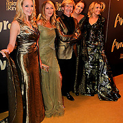 NLD/Amsterdam/20111019 - Televiziergala 2011, Marleen Sahupala, Milika Peterzon, Addy van den Krommenacker, Selma van Dijk en Gallyon van Vessem