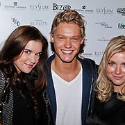 NLD/Amsterdam/20101012 -Bizar Fashion show 2010, Marly van der Velden, Ferry Doedens en Gigi Ravelli