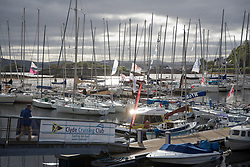 Clyde Cruising Club's Scottish Series 2019<br /> 24th-27th May, Tarbert, Loch Fyne, Scotland<br /> <br /> Day  1 - Perfect Conditions<br /> <br /> Tarbert harbour<br /> <br /> Credit: Marc Turner / CCC