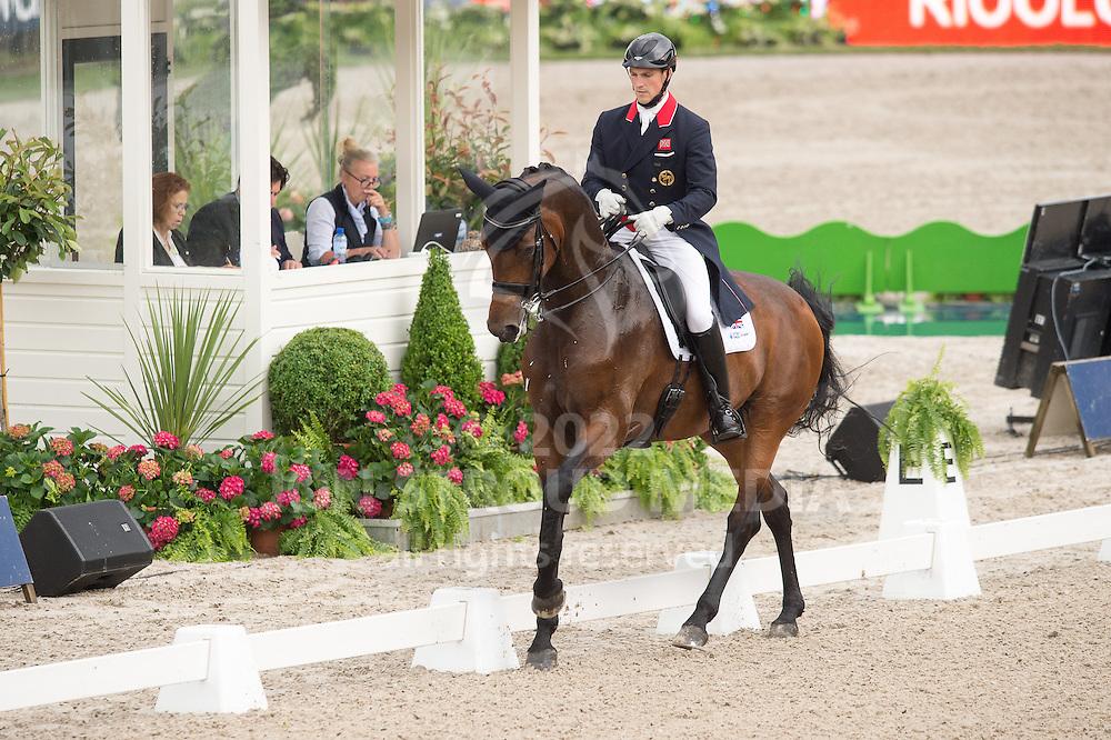 Michael Eilberg (GBR) & Woodlander Dornroschen - Dressage Grand Prix - CDIO5 - CHIO Rotterdam 2016 - Kralingse Bos, Rotterdam, Netherlands - 23 June 2016