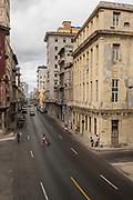 Street life in old Havana Cuba.