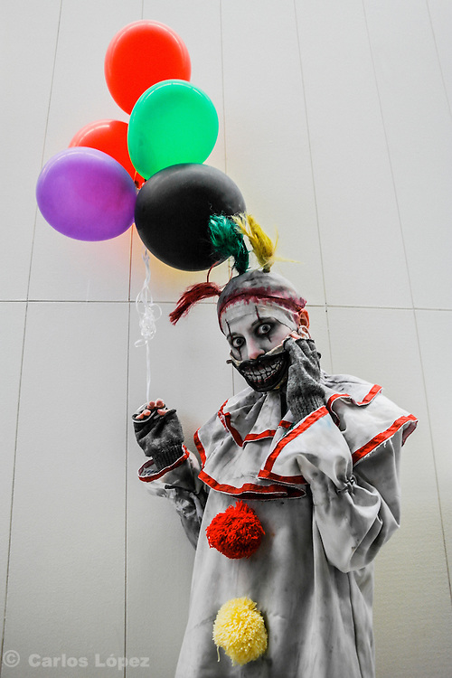 Twisty from a American horror story. Cosplayer at Animefest 2015 in the city of Brno, czech republic.