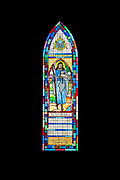'Good Shepherd' (Wanda Ebeling Inglis Memorial Window), Jackman Studio, installation date unknown (after 1986.) St. Matthew and Barnabas, Hallowell, Maine.