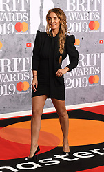 February 21, 2019 - London, London, United Kingdom - Image licensed to i-Images Picture Agency. 20/02/2019. London, United Kingdom. Louise Redknapp  at the Brit Awards in London. (Credit Image: © i-Images via ZUMA Press)