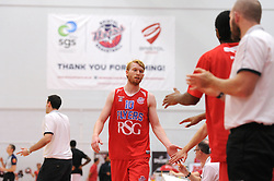 Matthias Seilund of Bristol Flyers - Mandatory byline: Dougie Allward/JMP - 07966 386802 - 23/10/2015 - FOOTBALL - SGS Wise Campus - Bristol, England - Bristol Flyers v Manchester Giants - British Basketball League