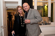Olivia Innocenti; Paul Roshan, Gino Hollander exhibition, Also a chance to see  the flat at 105-106 Lancaster Gate which is for sale. London. 4 February 2010.