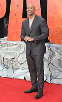 Dwayne Johnson at  the UK Premiere of  Rampage, Cineworld Leicester Square, London