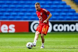 Joe Morrell of Wales in action - Rogan/JMP - 06/09/2020 - FOOTBALL - Cardiff City Stadium - Cardiff, Wales - Wales v Bulgaria - UEFA Nations League Group B4.