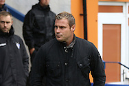Bury Manager David Flitcroft looks on. EFL Skybet football league one match, Bury v Port Vale at Gigg Lane in Bury ,Lancs on Saturday 3rd September 2016.<br /> pic by Chris Stading, Andrew Orchard sports photography.