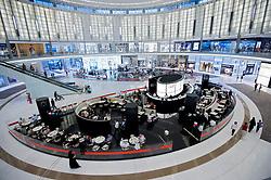Armani Caffe in in Dubai Mall in Dubai United Arab Emirates UAE