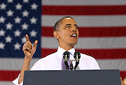 Oct 29, 2010. President Barack Obama made a stop on the campaign rally for Virginia 5th District Representative Congressman Tom Perriello Friday at the Charlottesville Pavilion in downtown Charlottesville, Va. Photo/The Daily Progress/Andrew Shurtleff