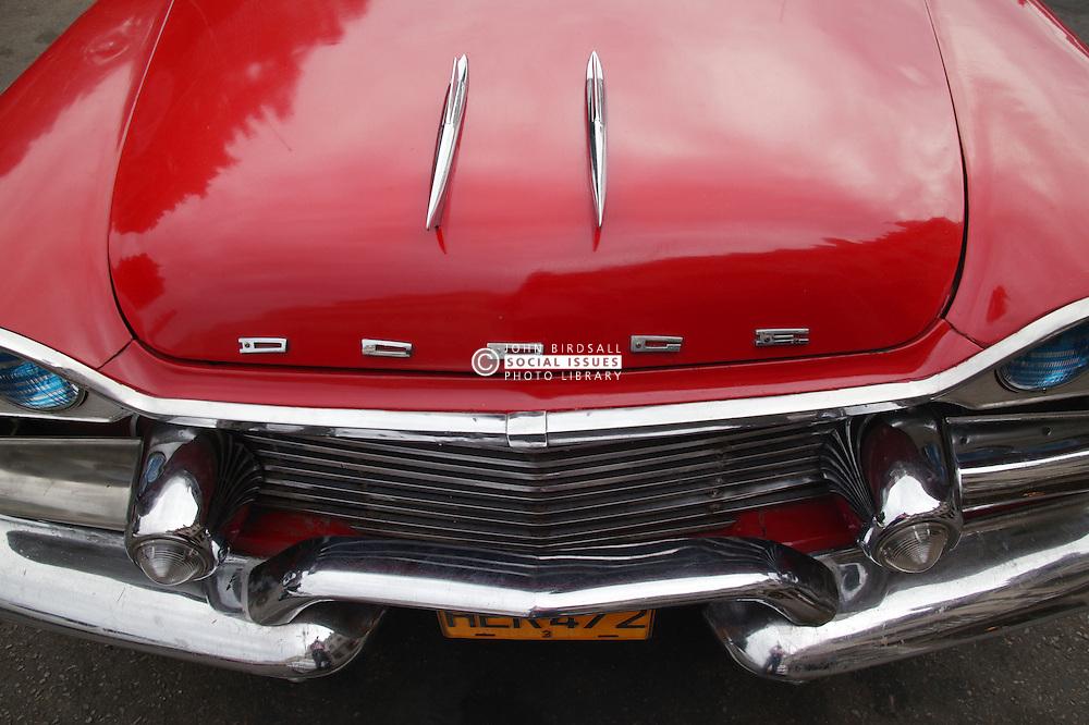 Old Dodge American car in Havana,