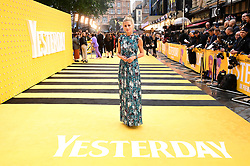 Laura Bailey attending the Yesterday UK Premiere held in London, UK.