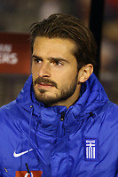 20170325 - Brussels, Belgium / Fifa WC 2018 Qualifying match : Belgium vs Greece / <br /> Marios OIKONOMOU<br /> European Qualifiers / Qualifying Round Group H /  <br /> Picture by Vincent Van Doornick / Isosport