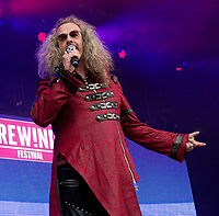 Clive Jackson at Rewind Festival North 2021 the 80s festival , Capesthorne Hall, Macclesfield, England photo by Michael Palmer