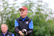 Pat Lee (Limerick) during the final round of the All Ireland Four Ball Inter club Final, Roe Park resort, Limavady, Derry, Northern Ireland. 15/09/2019.<br /> Picture Fran Caffrey / Golffile.ie<br /> <br /> All photo usage must carry mandatory copyright credit (© Golffile | Fran Caffrey)