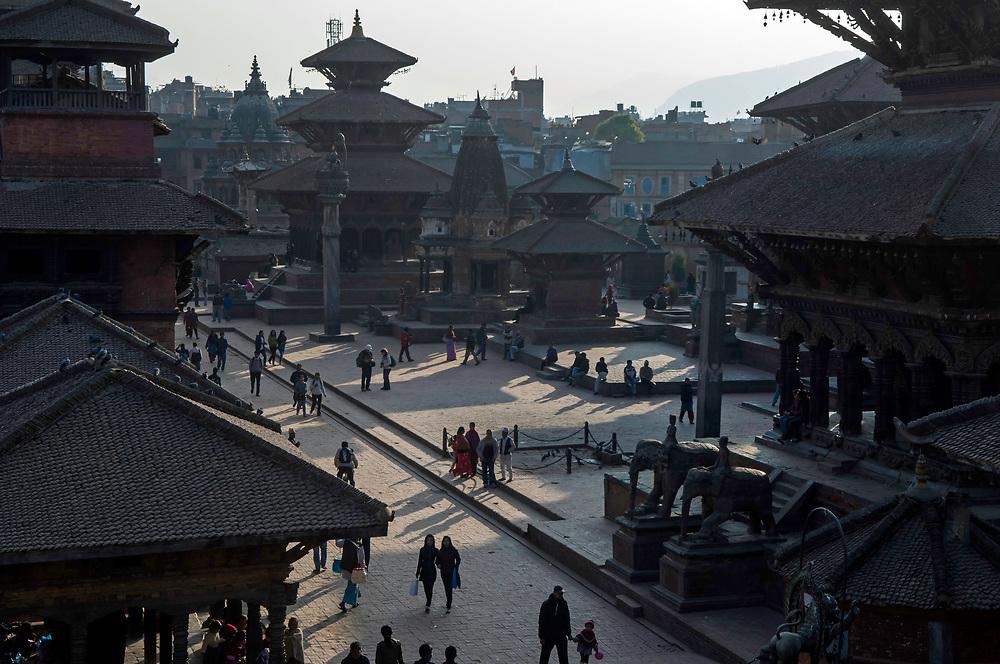 Durbar Square area, Patan, Nepal