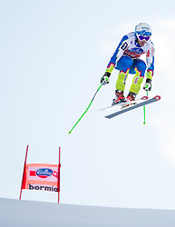 28.12.2013, Stelvio, Bormio, ITA, FIS Ski Weltcup, Bormio, Abfahrt, Herren, 2. Traininglauf, im Bild Rok Perko (SLO) // Rok Perko of Slovenia in action during mens 2nd downhill practice of the Bormio FIS Ski Alpine World Cup at the Stelvio Course in Bormio, Italy on 2012/12/28. EXPA Pictures © 2013, PhotoCredit: EXPA/ Johann Groder