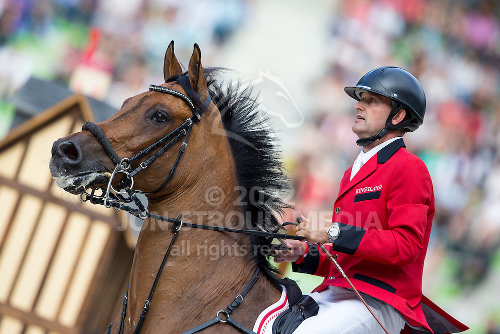 Torben Frandsen, (DEN), Solos Consept - Team & Individual Competition Jumping Speed - Alltech FEI World Equestrian Games™ 2014 - Normandy, France.<br /> © Hippo Foto Team - Leanjo De Koster<br /> 02-09-14