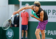 Alexander Sascha Zverev of Germany during day 1 of the French Open 2021, a Grand Slam tennis tournament on May 30, 2021 at Roland-Garros stadium in Paris, France - Photo Jean Catuffe / ProSportsImages / DPPI