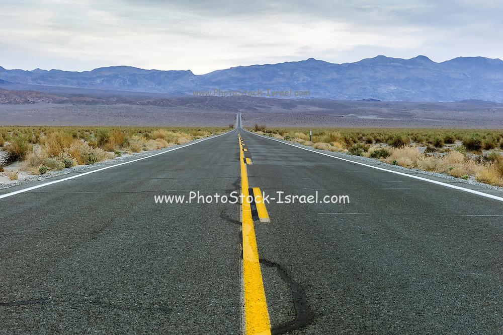 Highway 190 Death Valley California