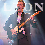 "WASHINGTON, DC - July 13th, 2014 - Hamilton Leithauser performs at The Hamilton in Washington, D.C. Leithauser, a D.C. native, released his first solo album this year while his former band, The Walkmen, are on a self-proclaimed ""extreme hiatus."" (Photo by Kyle Gustafson / For The Washington Post)"