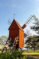 Sweden, Stockholm. Skansen is the first open air museum and zoo in Sweden.