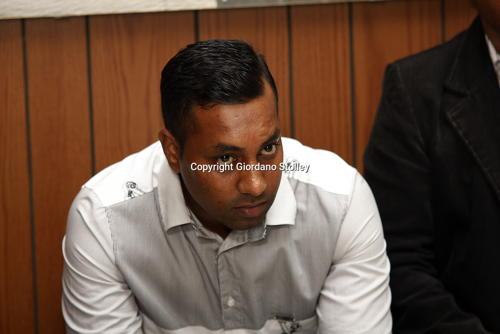 DURBAN - 11 February 2014 - Ravi Jagadasan attends a Department of Labour commission of inquiry that is investigating the events that led to a Tongaat Mall collapsing, killing two people and injuring 29 on November 19, 2013. Jagadasan is the director of Rectangle Property Investments, the company developing the mall. Picture: Allied Picture Press/APP