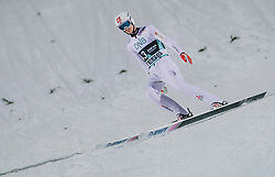 09.03.2020, Lysgards Schanze, Lillehammer, NOR, FIS Weltcup Skisprung, Raw Air, Lillehammer, Herren, im Bild Daniel Andre Tande (NOR) // Daniel Andre Tande of Norway during men's 2nd Stage of the Raw Air Series of FIS Ski Jumping World Cup at the Lysgards Schanze in Lillehammer, Norway on 2020/03/09. EXPA Pictures © 2020, PhotoCredit: EXPA/ JFK