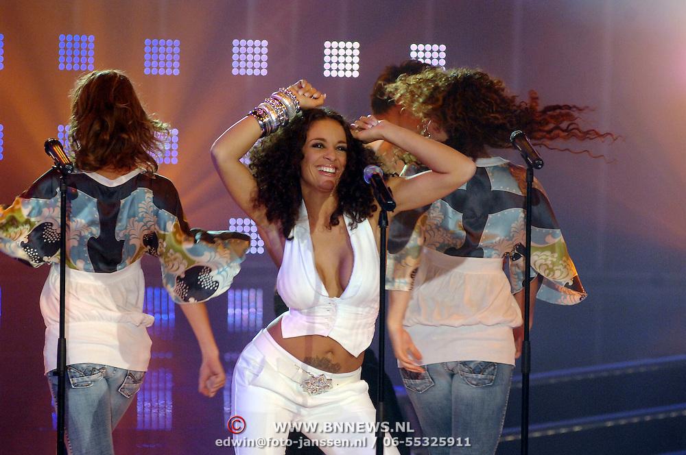 NLD/Hilversum/20070316 - 2e Live uitzending SBS So You Wannabe a Popstar, Fajah Lourens