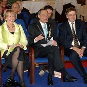 NLD/Huizen/20060323 - Afscheid burgemeester Jos Verdier als burgemester van Huizen, partner, Jos Verdier en C. Mooij