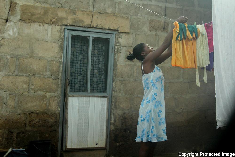 Laundry by Felicia Donkor