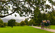 A jaunting car takes tourists on a trip through the Killarney Demesne this weekend ahead of the Tidy Town Awards..Picture by Don MacMonagle