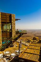 Beresheet Hotel, Mitzpe Ramon, Negev Desert, Israel.