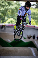 #997 (SCHAUB Philip) GER at Round 5 of the 2019 UCI BMX Supercross World Cup in Saint-Quentin-En-Yvelines, France
