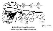 Winchester '73 ; James Stewart
