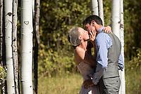 Teton Valley wedding — Angela Timby and Dan Long