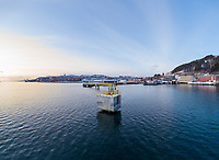 Cruisekaia i Narvik havn.