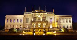 THEMENBILD - SCHLOSS KLESSHEIM bzw. das Casino Salzburg in der Abend Dämmerung, Bild am 07.05.2011 aufgenommen, EXPA Pictures © 2011, PhotoCredit: EXPA/ J. Feichter