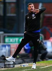 Oldham Athletic manager Richie Wellens - Mandatory by-line: Robbie Stephenson/JMP - 30/12/2017 - FOOTBALL - Sportsdirect.com Park - Oldham, England - Oldham Athletic v Bristol Rovers - Sky Bet League One