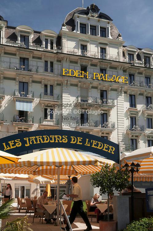 Suisse, Canton de Vaud, Région du Léman, Montreux, Eden Palace // Switzerland, Canton of Vaud, region of Leman, Montreux, Eden Palace hotel
