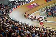Illustration, General view, Men Madison during the Track Cycling European Championships Glasgow 2018, at Sir Chris Hoy Velodrome, in Glasgow, Great Britain, Day 5, on August 6, 2018 - Photo luca Bettini / BettiniPhoto / ProSportsImages / DPPI<br /> - Restriction / Netherlands out, Belgium out, Spain out, Italy out -